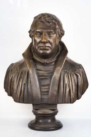 Büste Martin Luther, Bronze